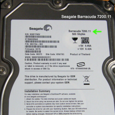 SEAGATE 7200.11 WINDOWS 8.1 DRIVER