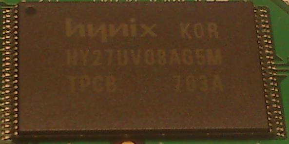 Типы корпусов чипов памяти