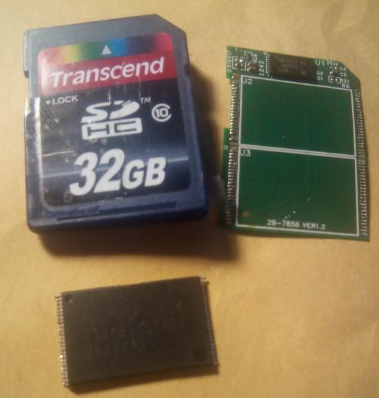 Восстановление данных с карт памяти